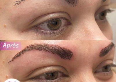 make up sourcils